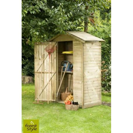 Armoire jardin bois 1 m²
