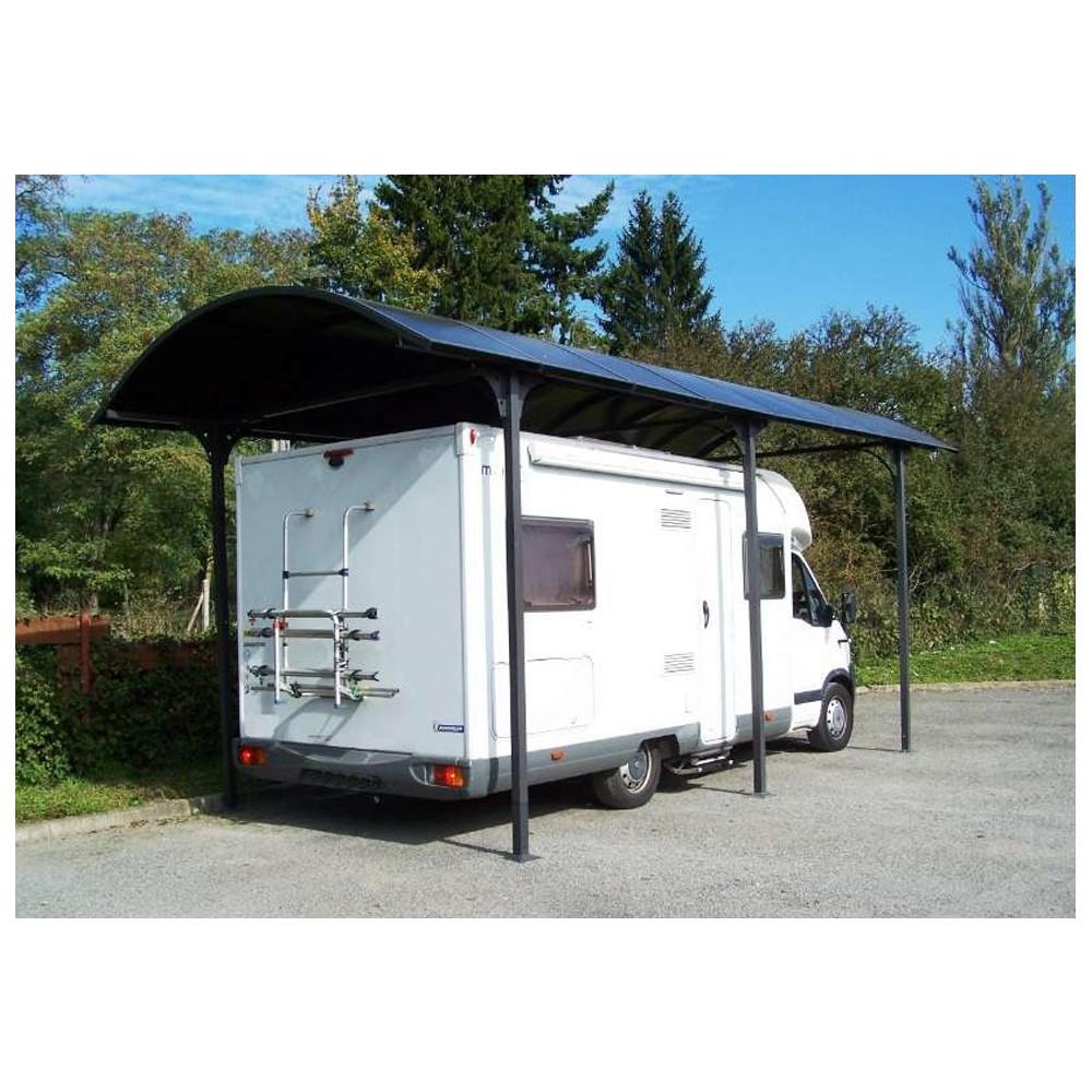 carport camping car alu  abri camping car en kit car3676