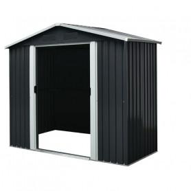 Abri jardin métal 2,54 m² gris anthracite