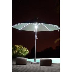Parasol automatique Led solaire LUXURY