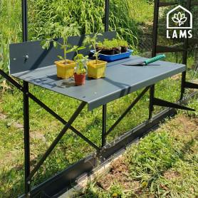Table à rempoter 80x50cm en aluminium