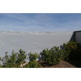 Filet brise-vue GRIS ht100cm x 25ml très occultant 92% - brise vue PVC gris