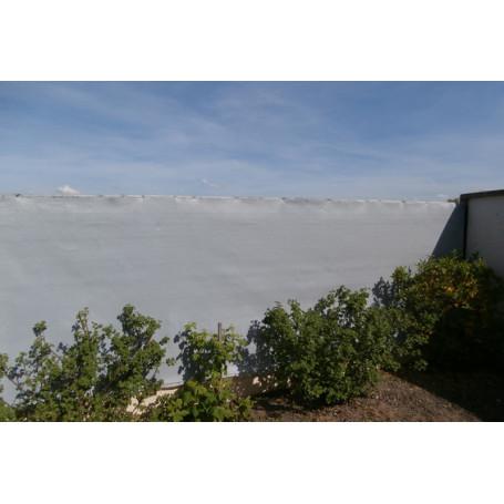 Filet brise-vue GRIS ht:150cm x 50ml très occultant 92% - brise vue jardin