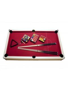 Table de billard transformable ARLEQUIN. pool anglais, pool américain et snooker.