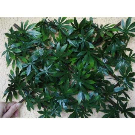 Treillis extensible feuilles vigne vierge 1mx3 brise vue
