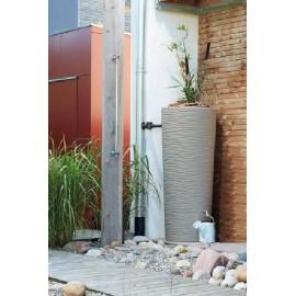 Récupérateur eau 2 en 1 NATURA SAHARA 350L+bac à plantes