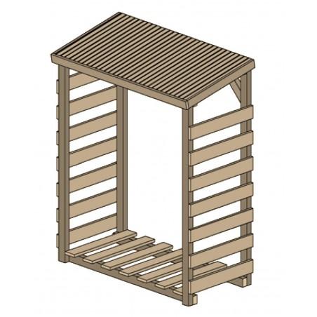 abri b ches bois de chauffage abri bois pas cher. Black Bedroom Furniture Sets. Home Design Ideas
