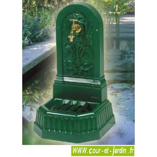 Fontaine fonte Triton - ht70cm, couleur au choix - fontaine de jardin