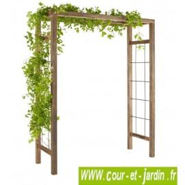 Pergola de jardin en bois IKEBANA avec ou sans supports