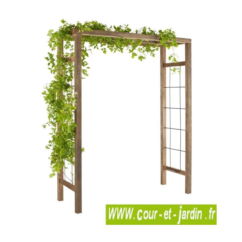 pergola de jardin d corative en bois pergola arche de. Black Bedroom Furniture Sets. Home Design Ideas