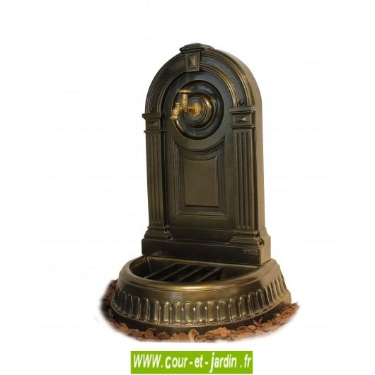 Fontaine de terrasse ou fontaine murale exterieure ou fontaine murale