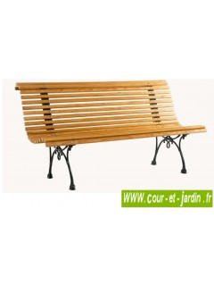 banc de jardin en bois pas cher bancs de jardin en bois et fonte. Black Bedroom Furniture Sets. Home Design Ideas