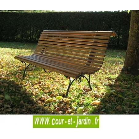 banc de jardin en bois pas cher bancs de jardin en bois et fonte. Black Bedroom Furniture Sets. Home Design Ideas