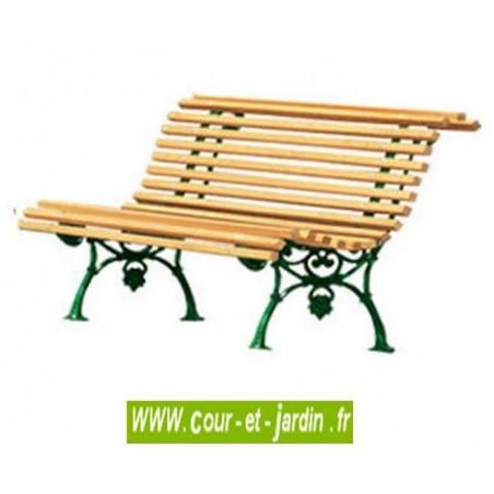 banc pour jardin fonte et bois pas cher ancien bancs de jardin en bois. Black Bedroom Furniture Sets. Home Design Ideas