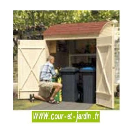 Armoire de jardin en bois armoires armoire de rangement for Imposition garage ou abri de jardin