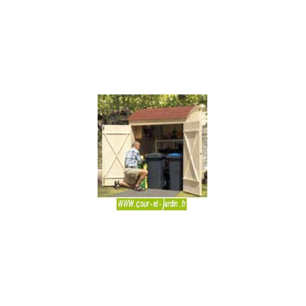 Armoire de jardin en bois, armoires, armoire de rangement, extérieur