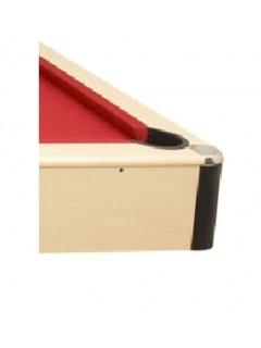Table de billard transformable en table de salle a manger. billard tapis rouge