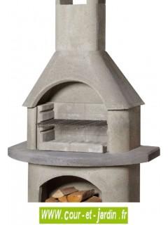 barbecue b ton fixe de jardin pierre pas cher barbecues en beton. Black Bedroom Furniture Sets. Home Design Ideas