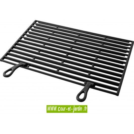 Grille fonte pour tous barbecues b ton buschbeck - Grille en fonte pour barbecue ...
