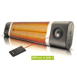 Chauffage infrarouge Veito OMEGA 1800w noir à télécommande