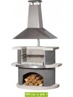 barbecue fixe b ton exterieur pas cher barbecues pierre de jardin. Black Bedroom Furniture Sets. Home Design Ideas