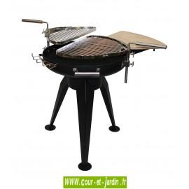 Barbecue Dual Grill 600 à charbon de bois