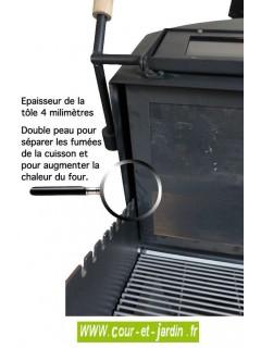 Four Barbecue VULCANO 3 Premium multifonction