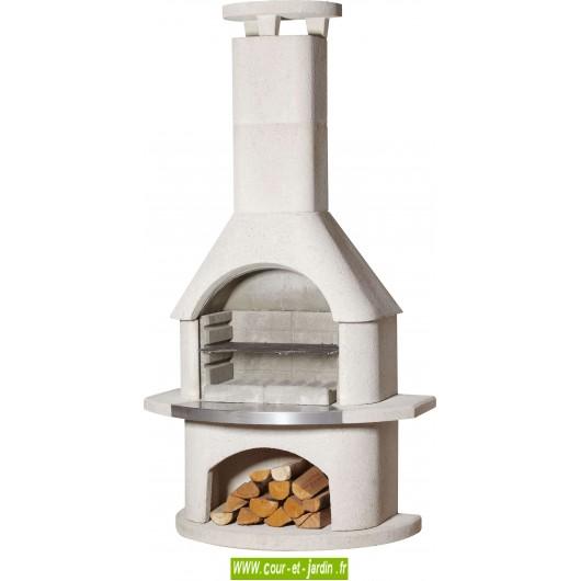 barbecue en kit fixe en pierre en b ton barbecues fixes ext rieur. Black Bedroom Furniture Sets. Home Design Ideas