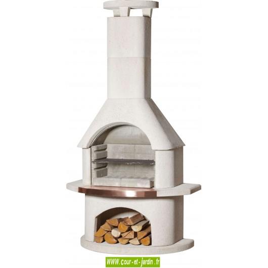barbecue a bois en b ton barbecue charbon de bois ext rieur pierre. Black Bedroom Furniture Sets. Home Design Ideas