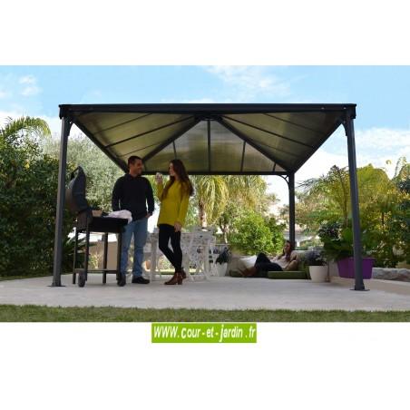 Tonnelle Alu Couv Terrasse Tonnelle De Jardin De 3 6x3 6 Autoportee