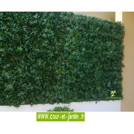 Treillis extensible feuilles de vigne vierge simple face (1m x 2ml)