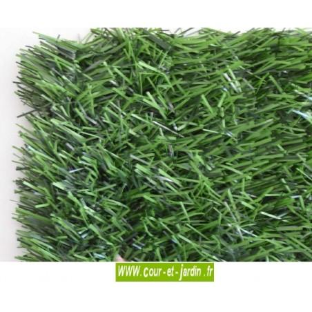 Haie végétale artificielle 110 brins rouleau de 3ml  ht 150cm