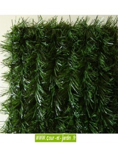 Haie végétale artificielle LUX 2/R  ht 200cm   x 3ml