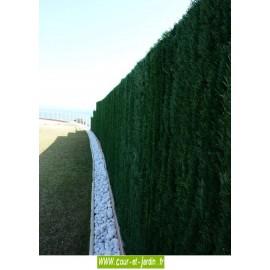 Haie végétale artificielle ULTRA 126 (180cm x 3ml)