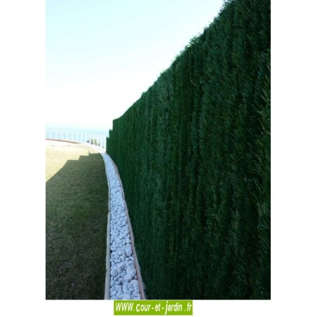 Haie artificielle Ultra 126, haie synthétique 1m80 x 3m de long