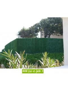 Haie végétale artificielle SUPRA 126   (120cm x 3ml)