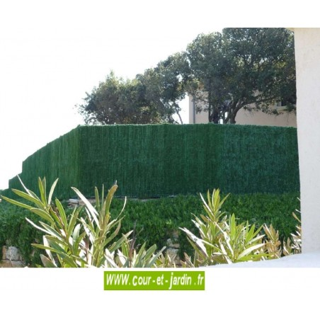 Haie végétale artificielle SUPRA 126 (180cm x 3ml)