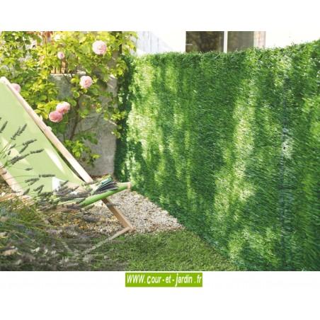 fausse haie de thuya en pvc ou haie artificielle 1m50. Black Bedroom Furniture Sets. Home Design Ideas
