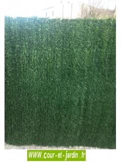 Haie de thuya artificielle SUPRÊME  ht 180cm x 3ml (144 brins)