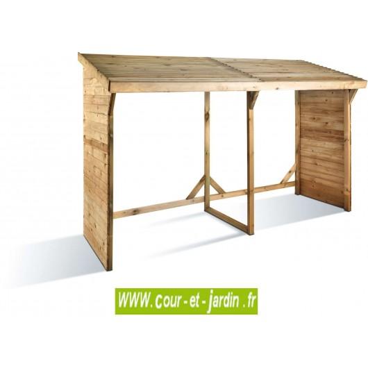 abri pour bois de chauffage abri bois abri b ches 5 st res. Black Bedroom Furniture Sets. Home Design Ideas