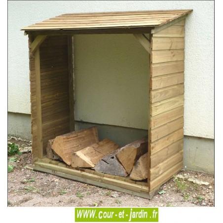abri buches abri pour bois de chauffage range buches. Black Bedroom Furniture Sets. Home Design Ideas