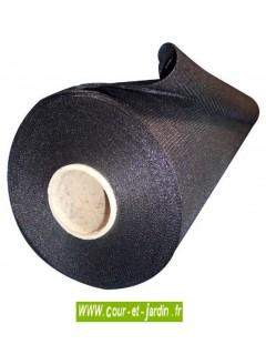 Filet brise-vue occultant  rouleau de 50m de ht 2m - brise vue noir occultant