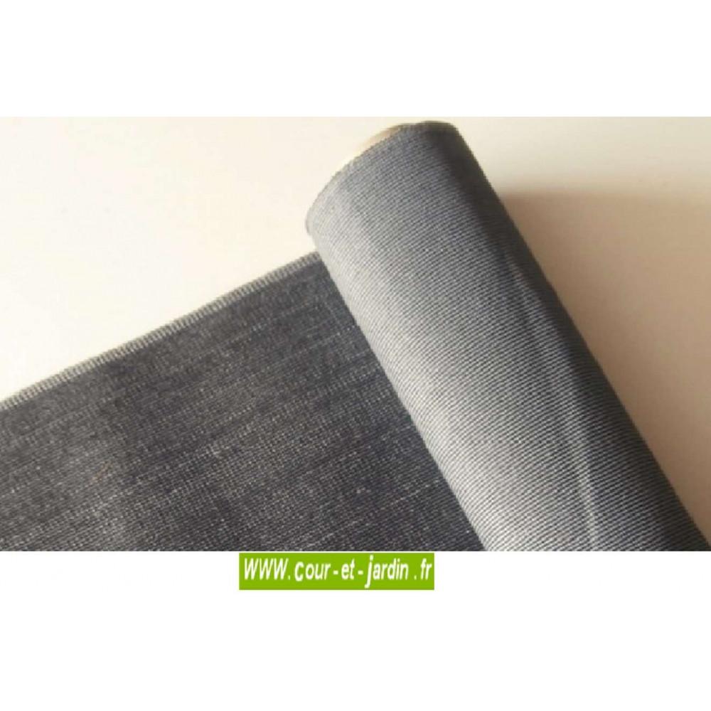 toile brise vue pvc gris fonc servant aussi pour pergola. Black Bedroom Furniture Sets. Home Design Ideas