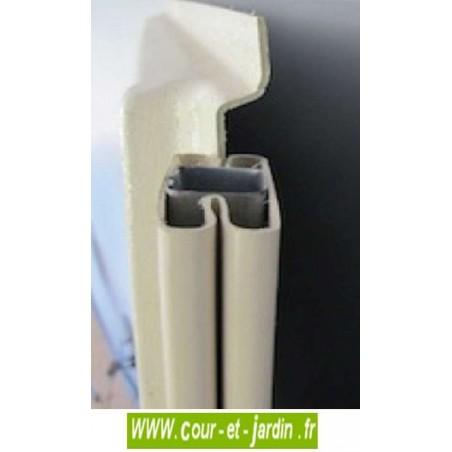 Abri de jardin PVC 8x6 WoodStyle - zoom PVC