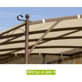 TOILE pour Extension de Tonnelle murale Illusion