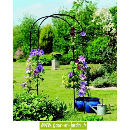 arche de jardin arch deluxe pergola d corative. Black Bedroom Furniture Sets. Home Design Ideas