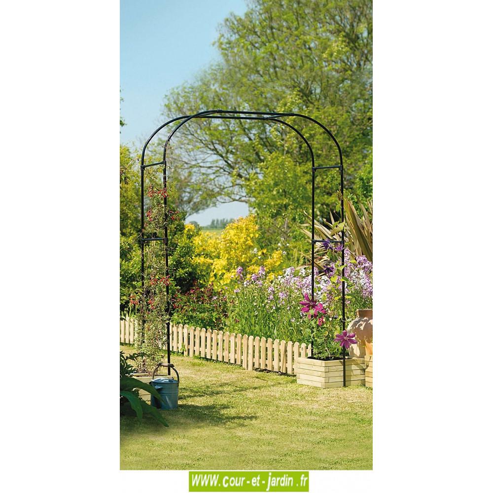 Arche De Jardin Extra Large Pergola Decorative En Metal Pergol
