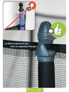 Trampoline d'exterieur FUNNI POP 250 avec filet de la marque Kangui