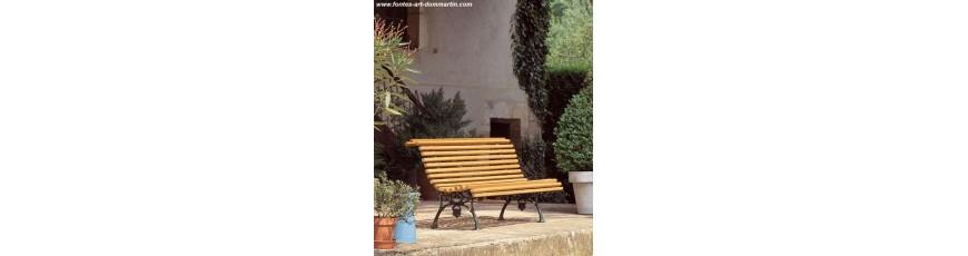 Banc De Jardin Acheter Bancs En Bois En Pvc Ou En Fonte Cour
