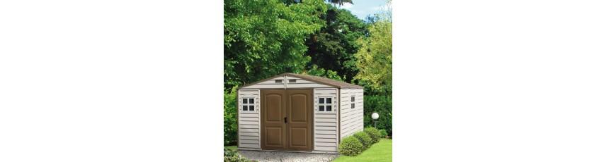 pas mal c926d 991fd Abri jardin PVC / resine, petite cabane de jardin - Cour et ...